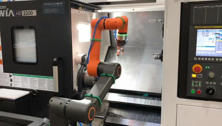 robot współpracujący