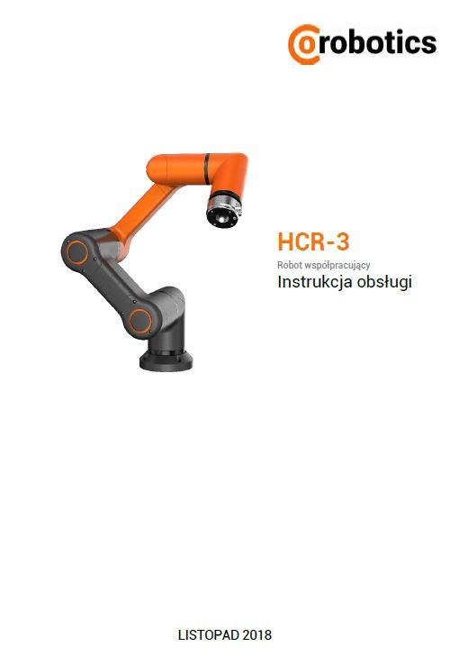 Instrukcja Obsługi - Przemysłowy Robot Współpracujący HCR-3