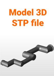 Model 3D - Przemysłowy Robot Współpracujący HCR