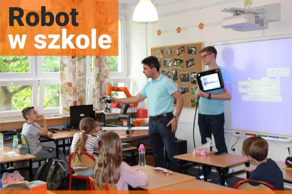 Akcja edukacyjna CoRobotics dla szkół - Robot w Szkole