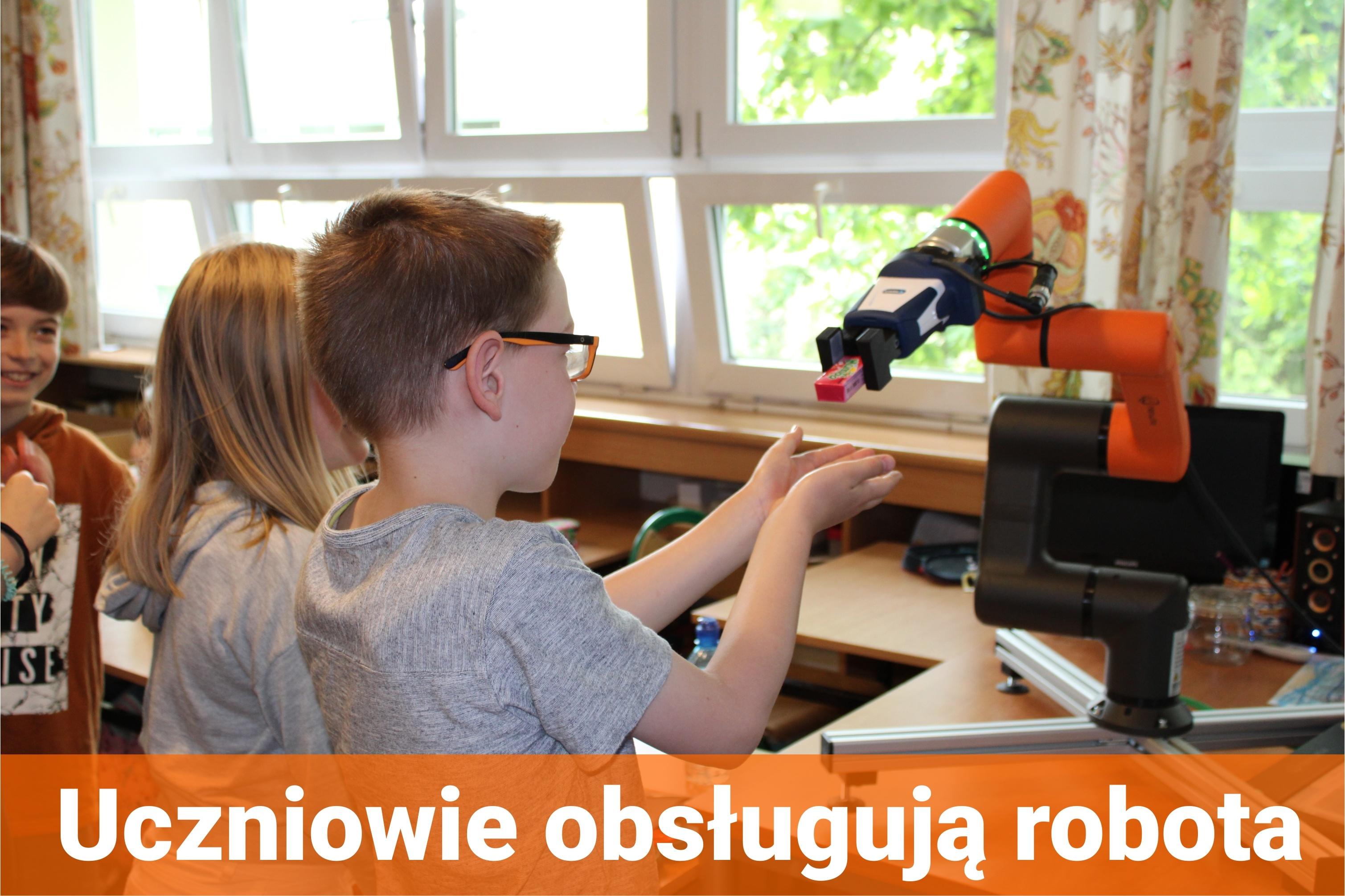Robot w Szkole
