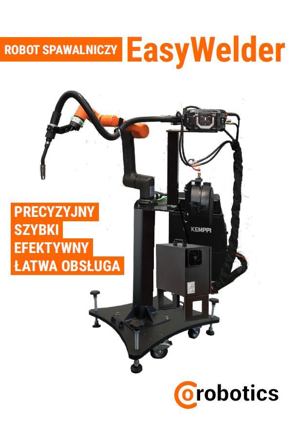 EasyWelder - gotowy zrobotyzowany zestaw spawalniczy do łatwego i szybkiego spawania