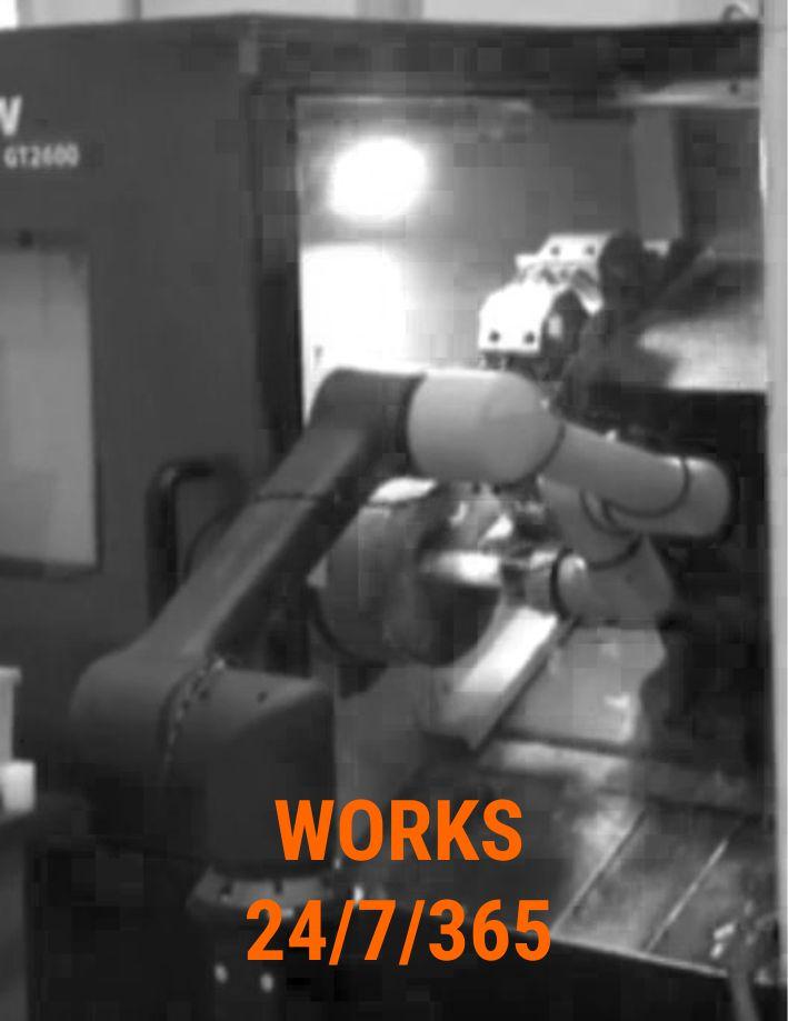 HCR Industrial Collaborative Robot - 24/7/365 efficiency