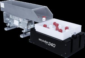 Stół wibracyjny dla robota HCR dla precyzyjnego pobieranie detali