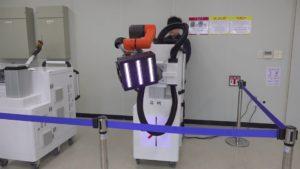 robot do sterylizacji
