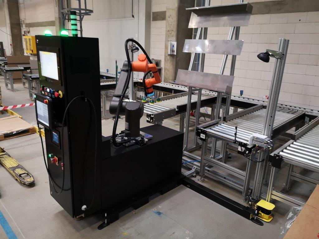 robotyzacja paletyzacji