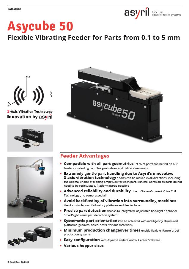 Podajnik wibracyjny AsyCube