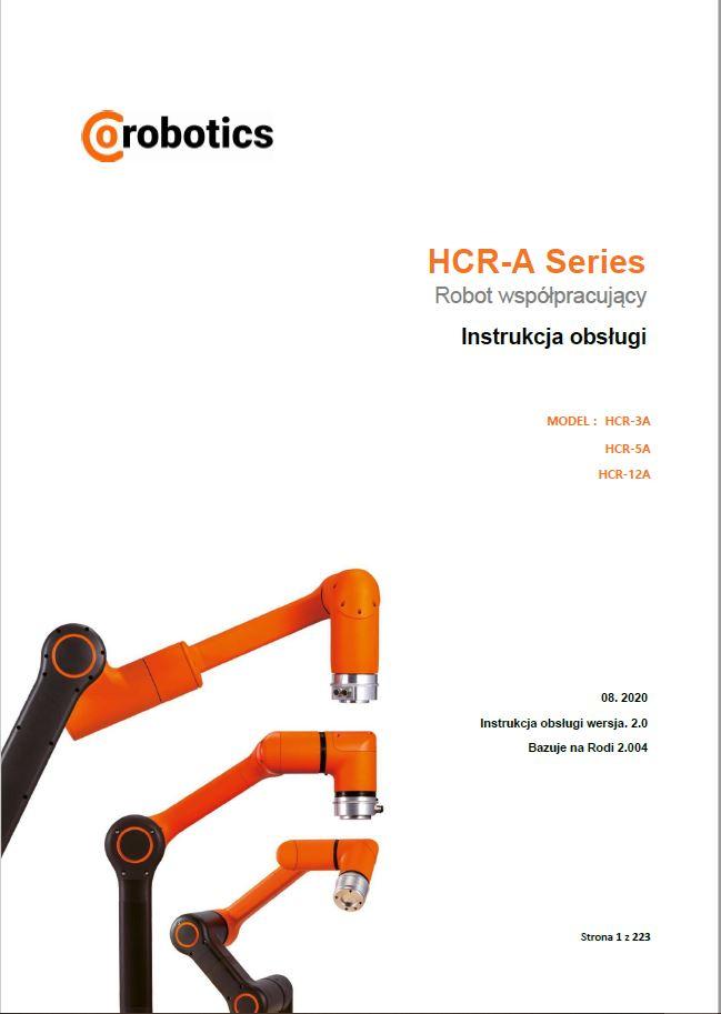 Instrukcja Obsługi HCR-A