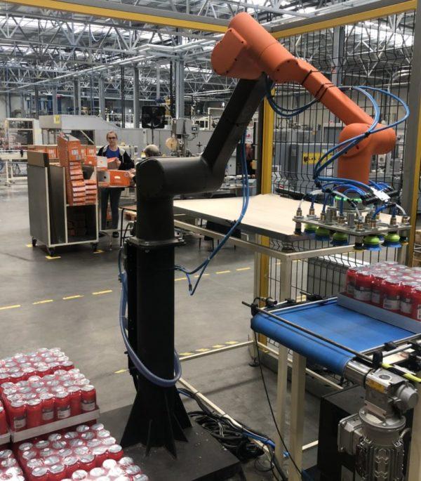 robot paletyzujący